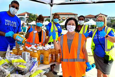 South County Grocery Distribution with Saddleback Church – Outlets at San Clemente 7/29/20